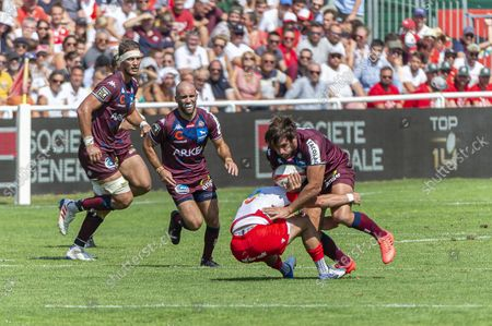 Editorial photo of Rugby, Biarritz Olympique v Union Bordeaux Begles, France - 04 Sep 2021