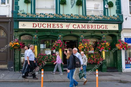The Duchess of Cambridge pub in Windsor. The number of positive Covid-19 cases in the Royal Borough of Windsor per 100,000 people in the seven days up to and including 10 September compared with the week before are 345, down from 387. Under the latest Government Plan A, unvaccinated people will be encouraged to be jabbed, vaccines will be offered to 12 to 15 year old children and booster jabs are to be rolled out to over 50s