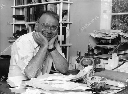Rabbi Lionel Blue Seen Here In His Office.