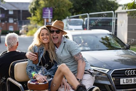 Ronan Keating & Storm Keating At The Isle Of Wight Festival 2021