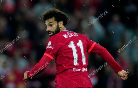 Stock Picture of Mohamed Salah of Liverpool