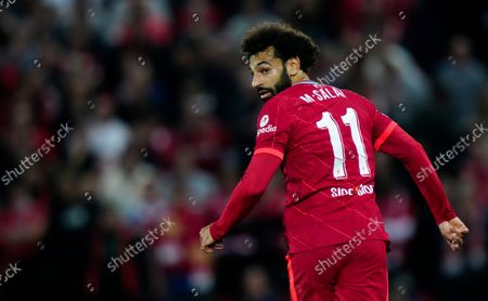 Stock Photo of Mohamed Salah of Liverpool