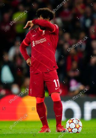 Editorial image of Liverpool  v AC Milan Champions League Group B, Football, Anfield Stadium,Liverpool UK - 15 Sep 2021