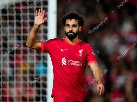 Editorial photo of Liverpool  v AC Milan Champions League Group B, Football, Anfield Stadium,Liverpool UK - 15 Sep 2021