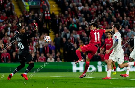 Editorial picture of Liverpool  v AC Milan Champions League Group B, Football, Anfield Stadium,Liverpool UK - 15 Sep 2021