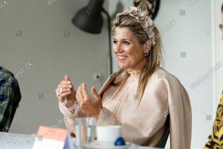 Queen Maxima visits Winner of the Apple of Orange 2021, Deventer
