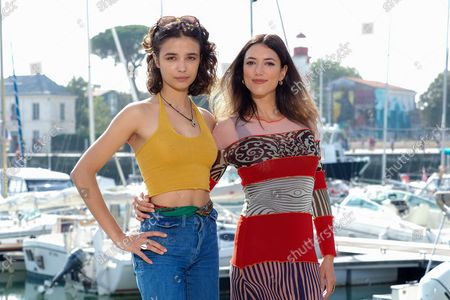 Carmen Kassovitz and Vanessa Guide