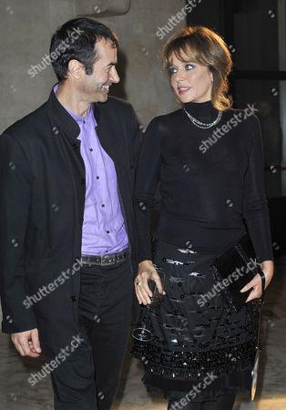 Andrea Occhipinti and Valeria Golino