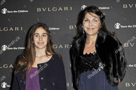 Giada Bulgari with Beatrice Bulgari