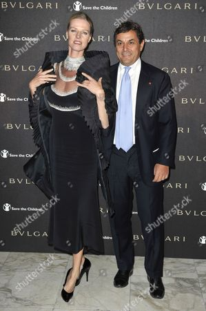 Editorial picture of Bulgari Save the Children Party, Rome, Italy - 03 Nov 2010