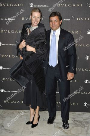 Stock Picture of Guest with Claudio Tesauro