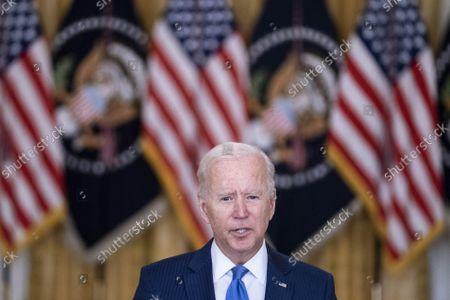 US President Joe Biden Delivers Remarks on Middle Class Economy, Washington DC