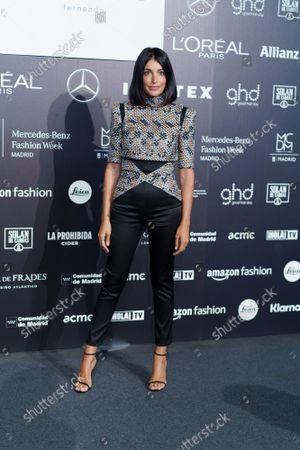Noelia Lopez attends Fernando Caro fashion show