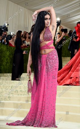 """Lourdes Maria Ciccone Leon attends The Metropolitan Museum of Art's Costume Institute benefit gala celebrating the opening of the """"In America: A Lexicon of Fashion"""" exhibition, in New York"""