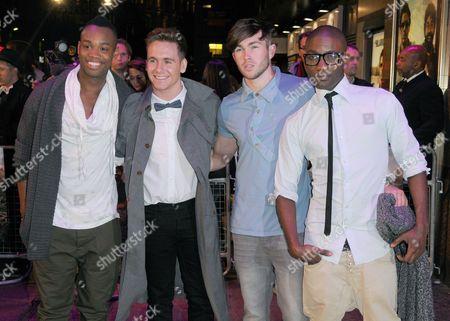 F.Y.D - Ryan-Lee Seager, Matt Newton, Alex Murdoch and Jordan Gabriel
