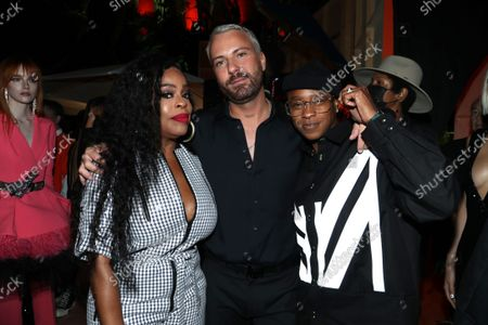 Stock Image of Marcell Von Berlin, Niecy Nash and Jessica Betts