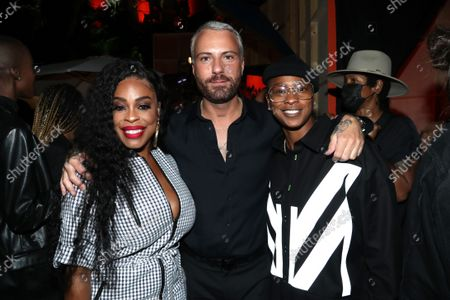 Marcell Von Berlin, Niecy Nash and Jessica Betts