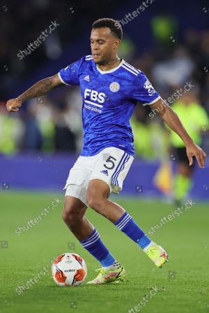 Ryan Bertrand of Leicester City during the UEFA Europa League match between Leicester City and SSC Napoli at the King Power Stadium, Leicester on Thursday 16th September 2021.