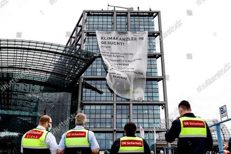 Greenpeace protest, Berlin
