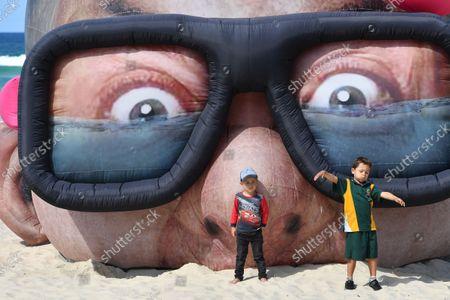 Swell Sculpture Festival at Currumbin Beach, Gold Coast