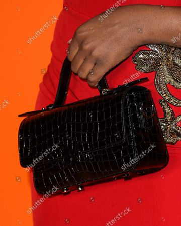 Stock Image of Singer Seandrea Sledge arrives at the MARCELL VON BERLIN Spring/Summer 2021 Runway Fashion Show held at the Sheats-Goldstein Residence on September 16, 2021 in Beverly Hills, Los Angeles, California, United States.