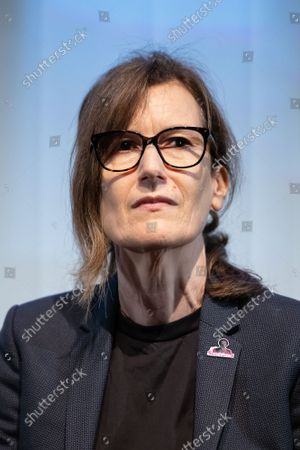 """Stock Photo of Director Joanna Hogg attends a screening for """"The Souvenir"""" at BFI Southbank, part of NFTS's 50th anniversary celebration."""