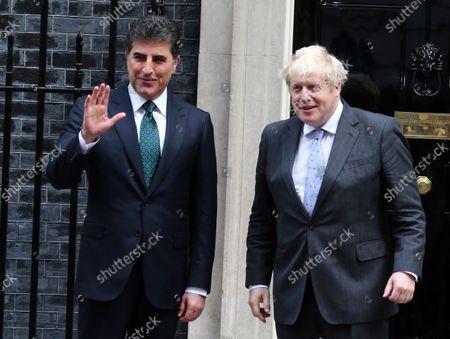 President Barzani visits Downing Street, London
