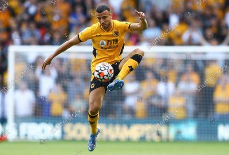 Romain Saiss of Wolverhampton Wanderers