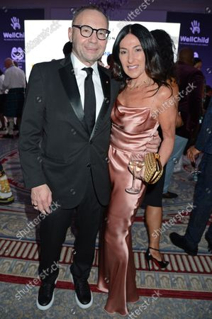 Jonathan Shalit and Katrina Sedley attend the ICON Gala, presented by Buzz Mode, in aid of NHS Charities Together and WellChild, at the Landmark Hotel, London, 17th September 2021