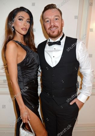 Stock Photo of Elizabeth-Jayne Tierney and Jamie O'Hara attend the ICON Gala, presented by Buzz Mode, in aid of NHS Charities Together and WellChild, at the Landmark Hotel, London, 17th September 2021