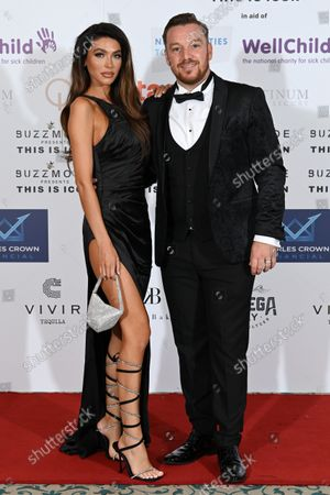 Editorial picture of The Icon Ball in aid of NHS Charities Together and Well Child, Landmark Hotel, London, UK - 17 Sep 2021