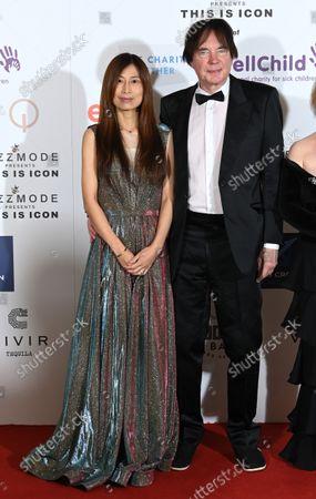 Julian Lloyd Webber and wife Jiaxin Cheng