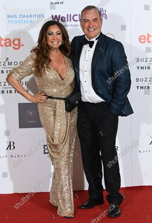 Editorial image of The Icon Ball in aid of NHS Charities Together and Well Child, Landmark Hotel, London, UK - 17 Sep 2021