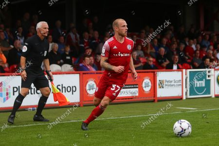 Editorial picture of Accrington Stanley v Wigan Athletic, EFL Sky Bet League One, Football, The Wham Stadium, Accrington, UK - 18 Sep 2021