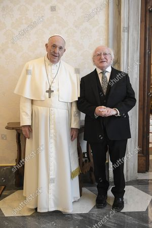 Pope Francis Meets with Michael Higgins President of Ireland, The Vatican