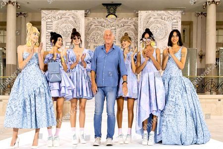 Editorial picture of Ready to wear summer 2022, London, UK, Paul Costelloe, United Kingdom - 09 Sep 2021