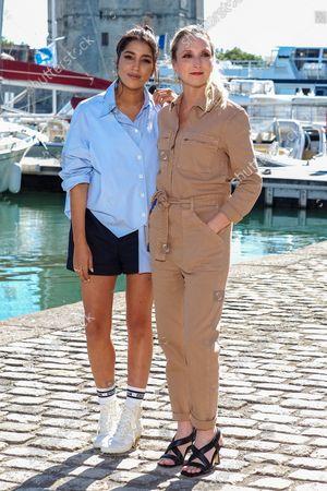 Leila Bekhti and Audrey Lamy