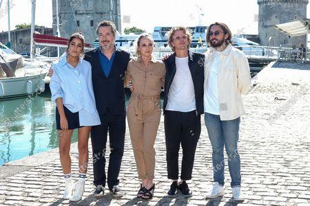Leila Bekhti, Guillaume Gallienne, Audrey Lamy, Alex Lutz, Arthur Sanigou