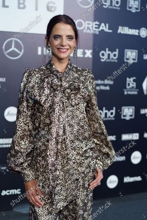 Editorial photo of Celebrities at Mercedes-Benz Fashion Week, Madrid, Spain - 17 Sep 2021