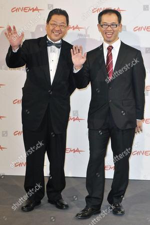 Producer Koji Hoshino, Director Hiromasa Yonebayashi