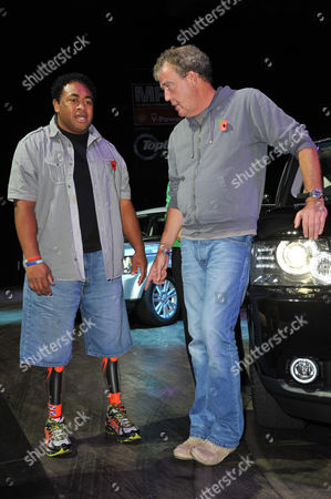Derek Derenalagi and Jeremy Clarkson.