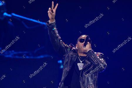 Editorial photo of iHeartRadio Music Festival, Las Vegas, United States - 17 Sep 2021