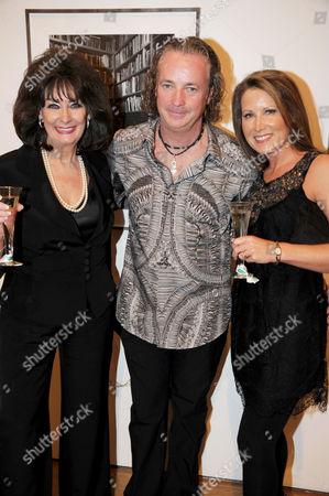 Pauline Prescott, Adrian Houston and Ashlie Prescott