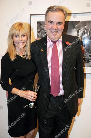 Stock Photo of Britt Ekland with Richard Leaman