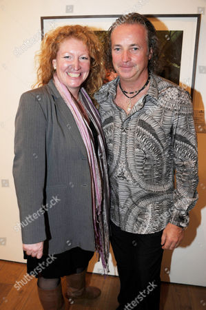 Charlie Dimmock and Adrian Houston