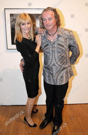 Stock Image of Britt Ekland and Adrian Houston