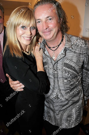 Stock Photo of Britt Ekland and Adrian Houston