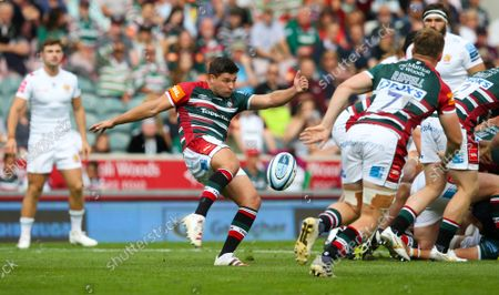 Ben Youngs of Leicester Tigers