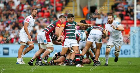 Stock Photo of Ben Youngs of Leicester Tigers