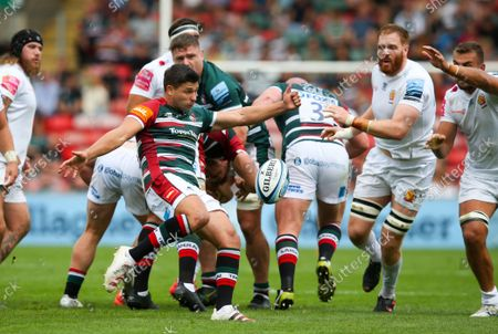 Stock Picture of Ben Youngs of Leicester Tigers